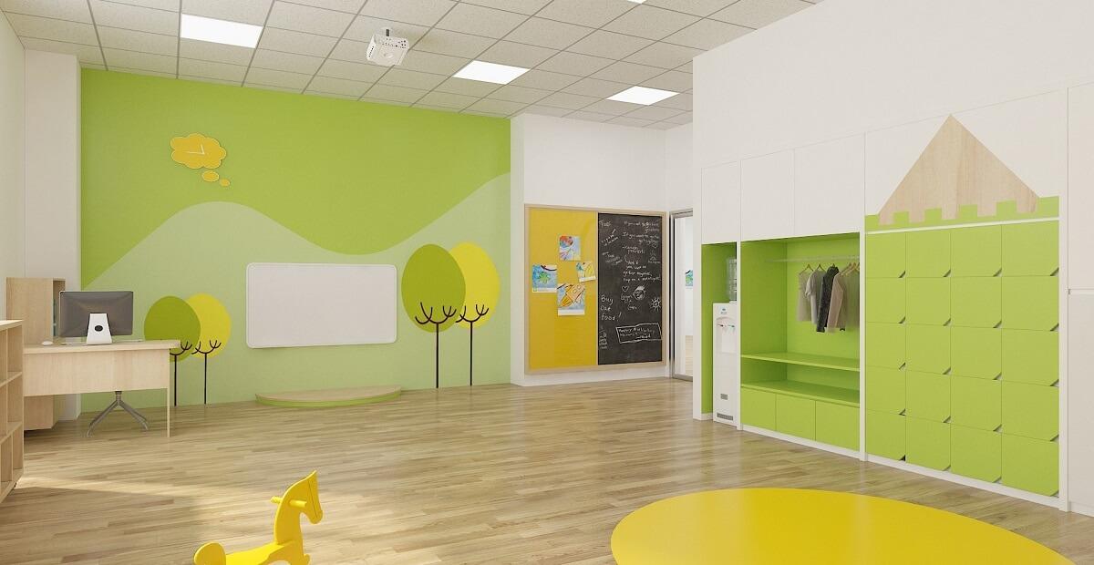 Cơ sở vật chất - Tiếng Anh tương tác cho trẻ iBS RichEnglish