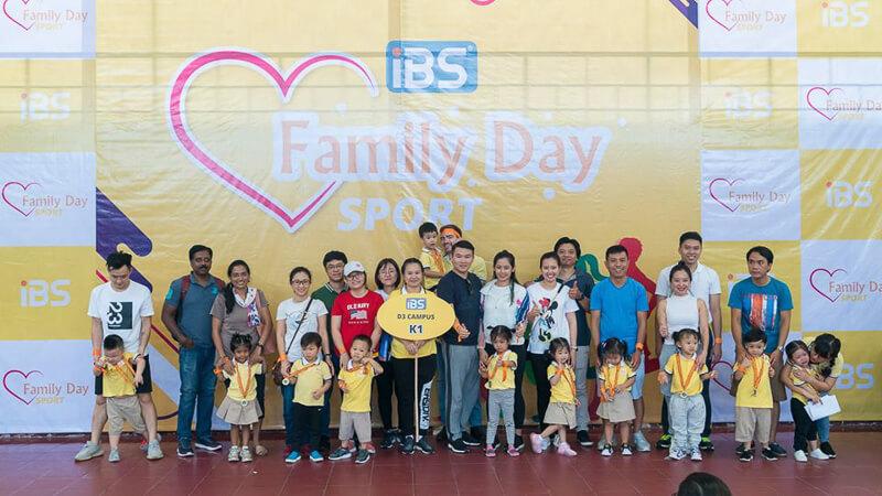 Hơn 800 bé và phụ huynh trường Quốc tế iBS tham gia ngày Family Sport Day 2019