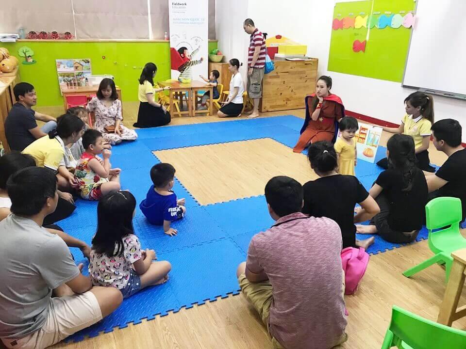 Trường mầm non Quốc tế iBS tổ chức chương trình trải nghiệm Demo Class cho bé trong tháng 5/ 2019